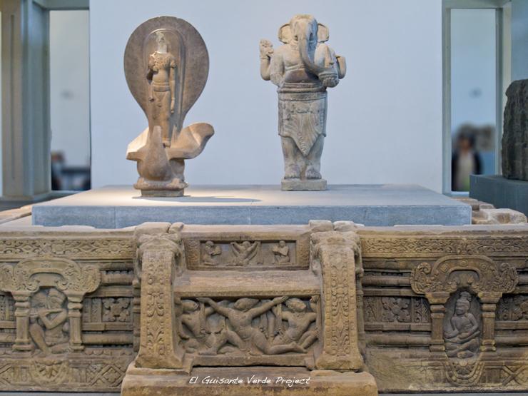 Altar Torre E1 y Ganesha en My Son - Vietnam por El Guisante Verde Project