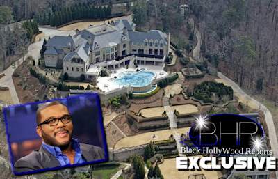 Actor And Director Tyler Perry Sells His Atlanta Mansion For 17.5 Million Dollars