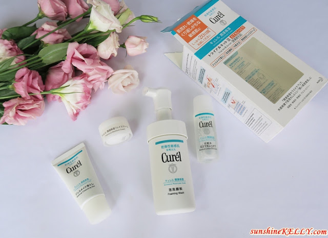 Curél Trial Kit III (Enrich) and Moisture Lip Care Cream (Pink) Review