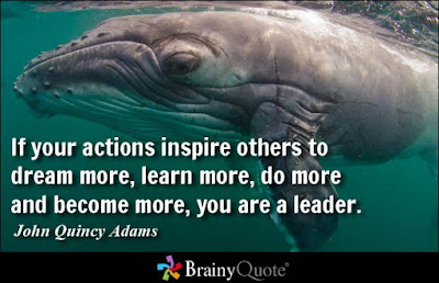 Learning to love Quotes with messages: if your actions inspire others to dream more, learn, more, do more