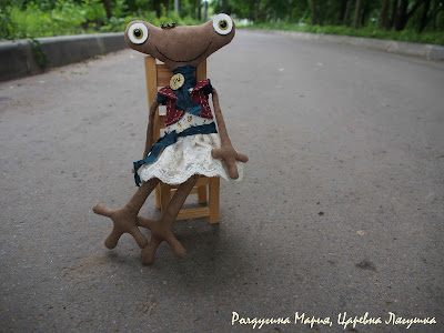 Царевна Лягушка ручная работа