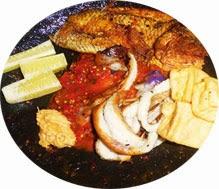Seruit makanan khas Bangka
