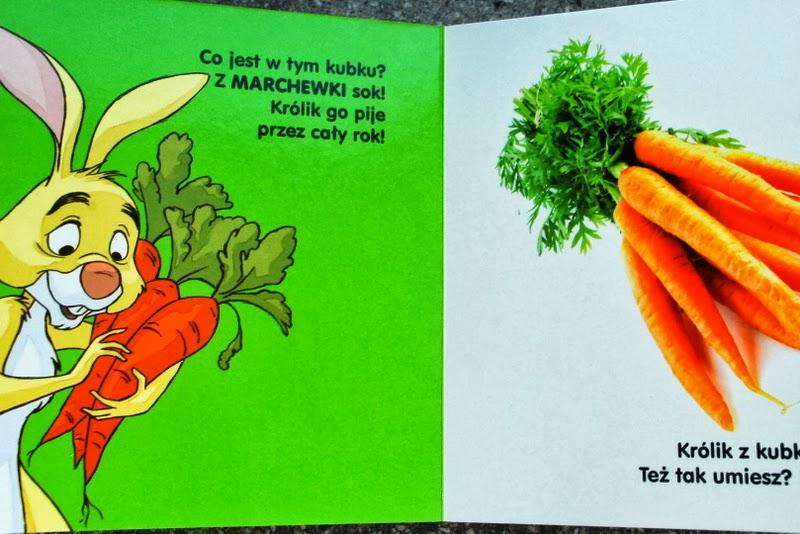 Królik i jego ukochane marchewki