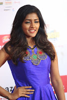 Eesha in Cute Blue Sleevelss Short Frock at Mirchi Music Awards South 2017 ~  Exclusive Celebrities Galleries 050.JPG
