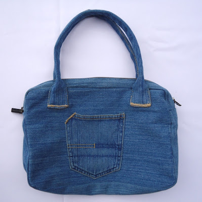 0c9018a3a4fe Stitch of Love  New Jean Bag from an Old Pair of Jeans
