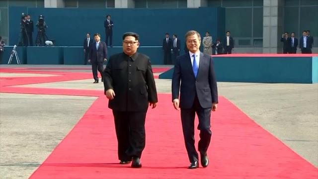 Reacciones internacionales a la reunión entre Kim y Moon