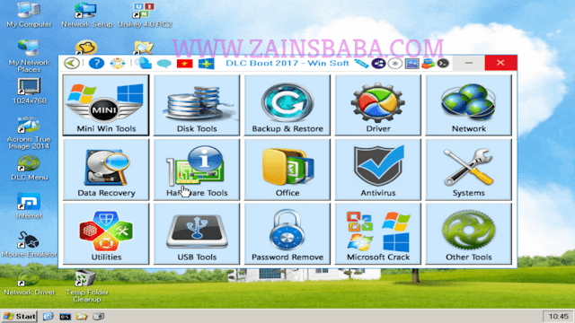 Multiboot Recovery PC 2017 ISO + Hairen Boot 15.2 | ZainsBaba.com
