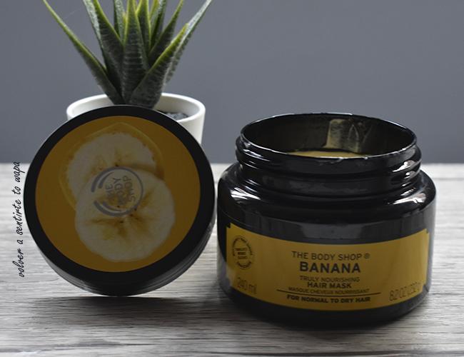 Mascarilla Capilar de Banana de The Body Shop