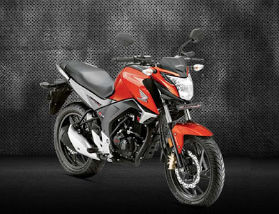 New Honda CB Hornet 160R motorcycle