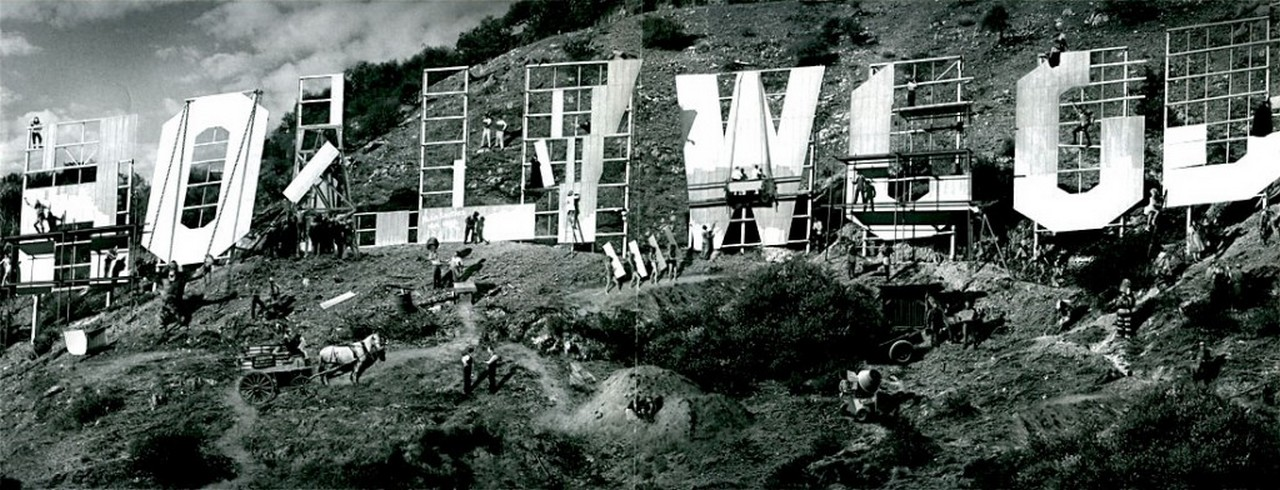 Establishment Of The Hollywood Sign