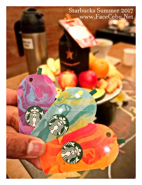 Starbucks Summer 2017 Die-Cut Cards