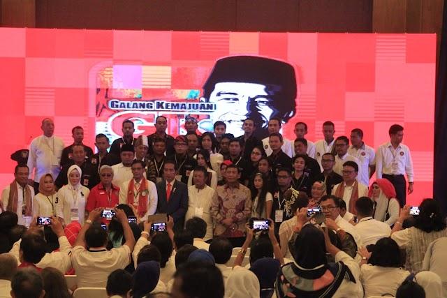 Hadiri Konvensi Nasional Galang Kemajuan, Presiden Joko Widodo Marah Besar