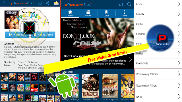 Popcornflix-Great Movies Free APK