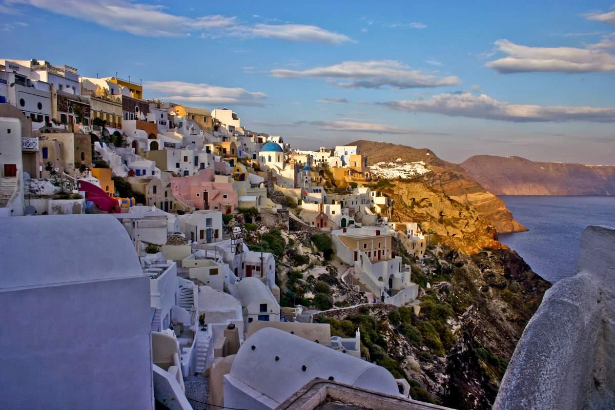 Greek Islands In March