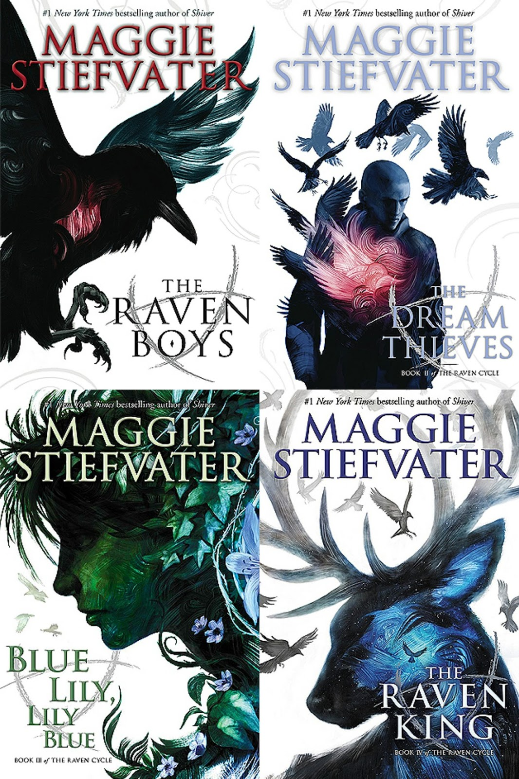 Reading Is My Breathing: NO MORE WAITING #8: THE RAVEN CYCLE
