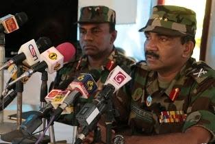 Army Commander Lt.Gen. Crishantha de Silvas