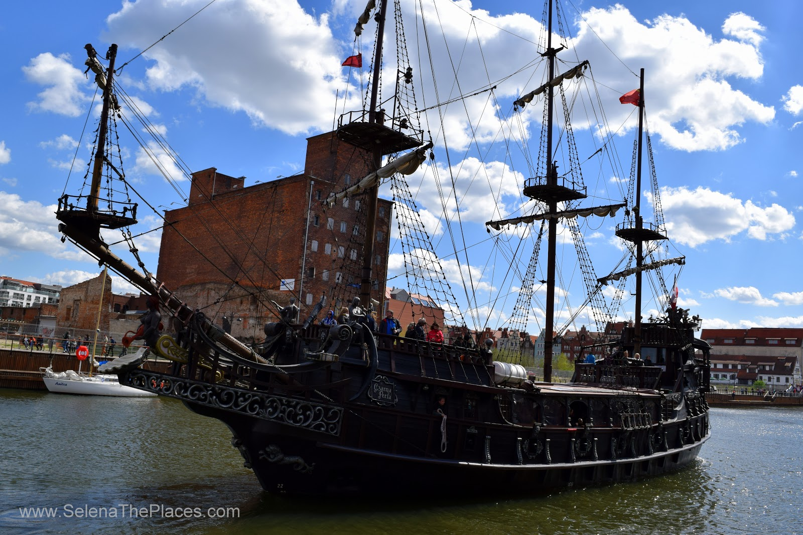 Pirate Cruise in Gdansk, Poland