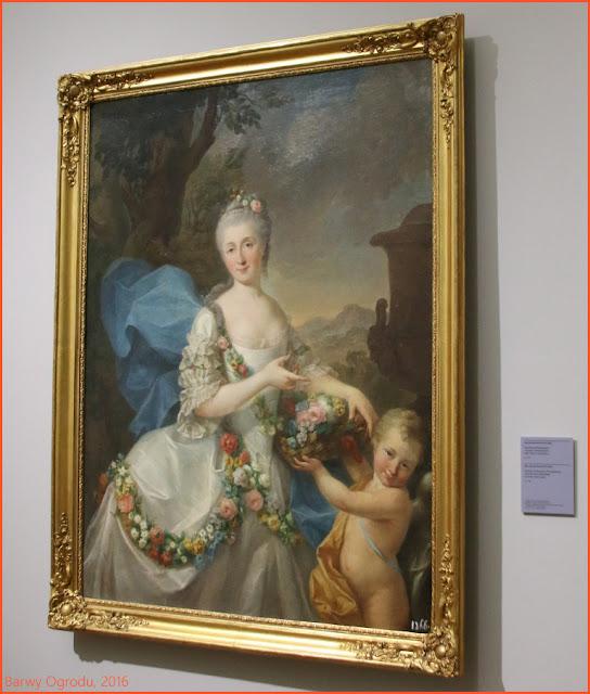 obraz portret Apolonii