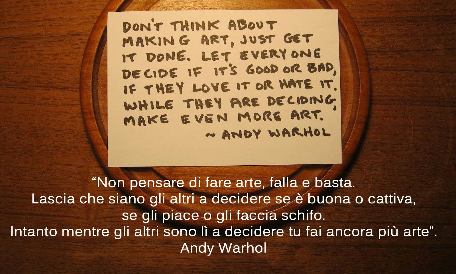 Andy Warhol Quotes Citazioni