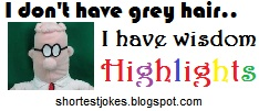 funny quotes on Grey hairs