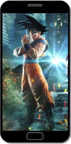Goku Jump Force - Fond d'Écran en QHD pour Mobile