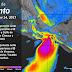 Se estiman nublados con tormentas fuertes en Veracruz, Tabasco, Oaxaca, Chiapas, Campeche y Quintana Roo