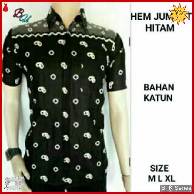 Grosir Hem Batik Murah: BTK169 Baju Hem Batik Jumput Modis Murah BMGShop