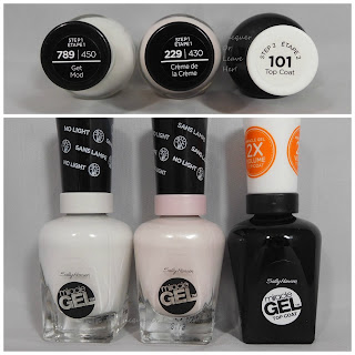 Sally Hansen Color of the Moment: Get Mod and Creme de la Creme