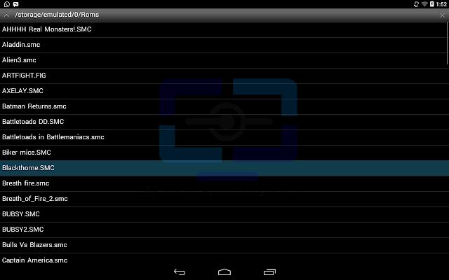 ROMs Snesx Ex+ Android