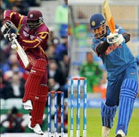 West Indies Tri Nation Series 2013 match's 4th match - West Indies Vs India.