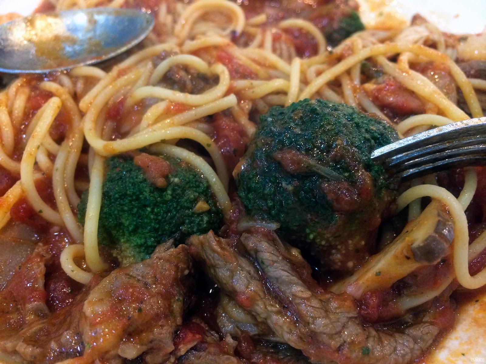 Seoul, Korea - Summer Study Abroad 2014 - Beef spaghetti from cafeteria