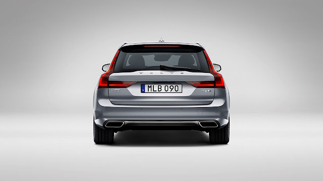 Volvo cars reveals stylish and versatile new V90 Estate