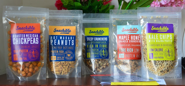 Snackible The Healthy Snacks Subscription Box Review