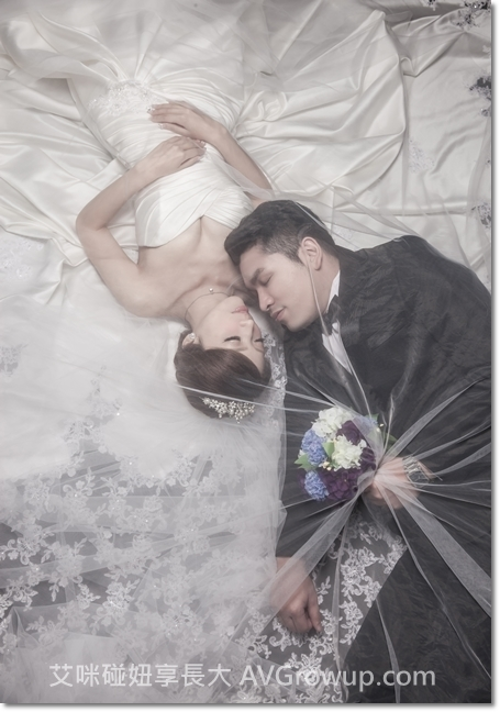 新娘捧花-頭紗-軟頭紗-婚紗
