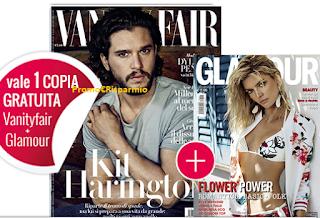 Logo Vanity Fair ti regala Glaour : tutto gratis !