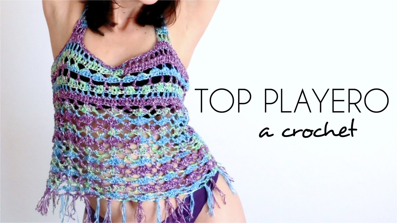 Recopilación Tops de Crochet para Verano - Handbox Craft Lovers ...