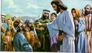 JESÚS RESTAURA LA VISTA A DOS CIEGOS