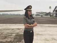 Sarah Abdullah, Gadis Arab Kelahiran Bandung, Calon Pilot Wanita Yang Eksotis