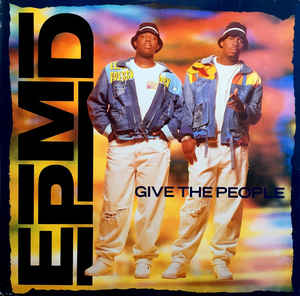 Cover Album of EPMD: Give The People (1991) [VLS] [320kbps]