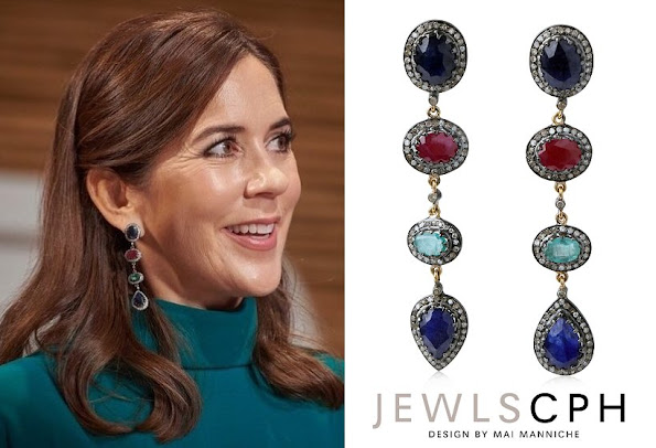 Crown Princess Mary JEWLSCPH Chloe Diamond Earrings