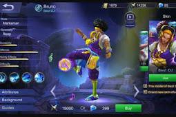 Gear Bruno Savage Terbaru Mobile Legend Yang Sangat Mematikan