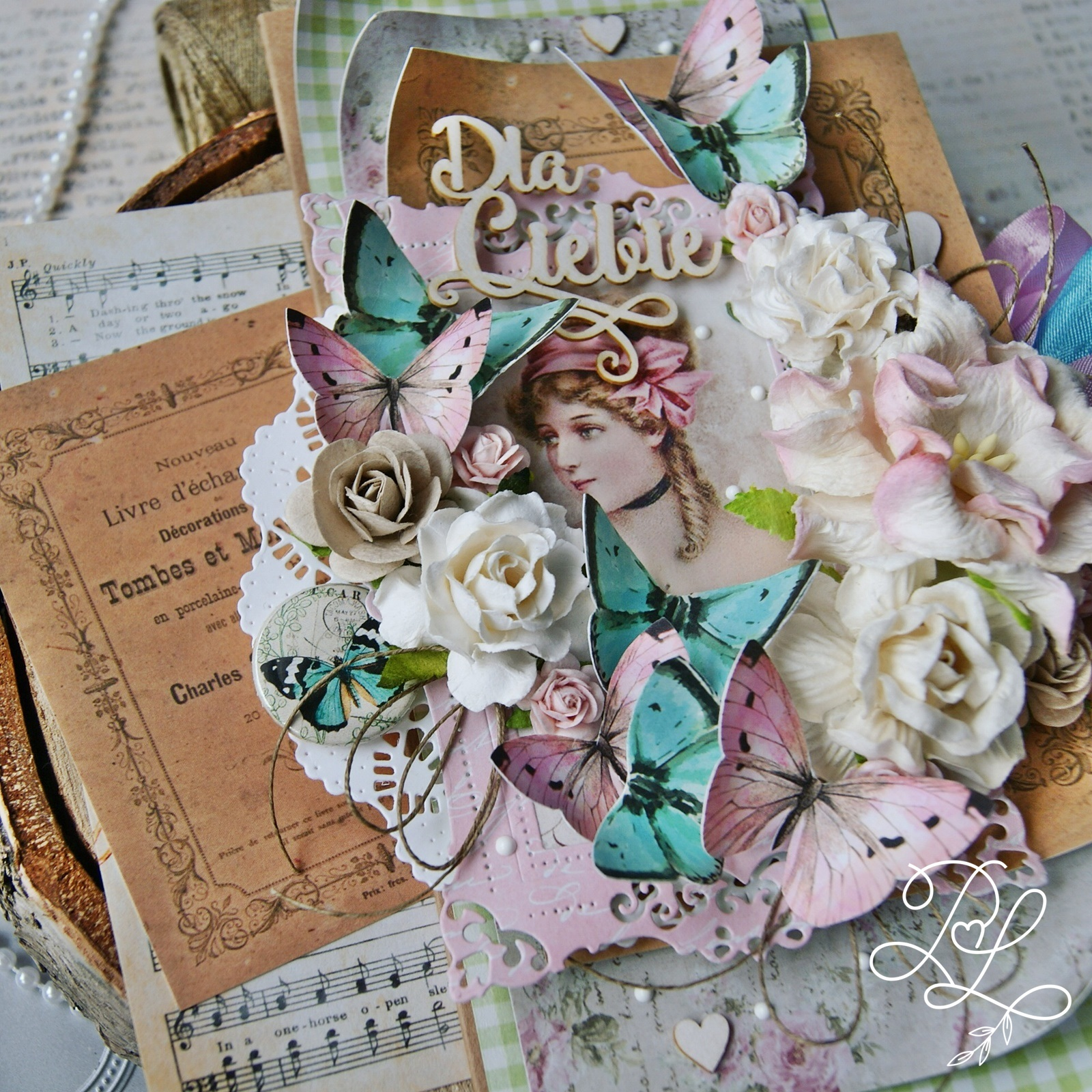 Kartka okolicznościowa Papierowe Love - sklep papierniczy i pracownia rękodzieła Katarzyna Rajczakowska