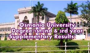 OU Degree Supply Results 2016, OU Degree Supplementary Results 2016, Osmania University Degree Supply Results 2016, OU Degree BA, Bcom, Bsc Results 2016, OU Degree 1st Year Results 2016, OU Degree 2nd Year Results 2016, OU Degree 3rd Year Results 2016, OU Supply Degree Results 2016, OU Degree Supply results 2016, Osmania University degree Supply results 2016.