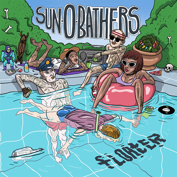 "Sun-0-Bathers stream new song ""Overtime"""