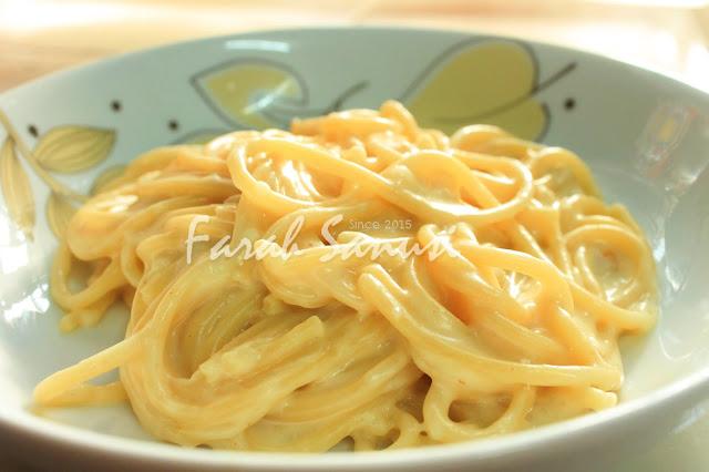 Resepi Spaghetti Carbonara Tanpa Sos Prego