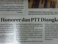 News : Revisi UU ASN : Mulai 2017, Pegawau Honorer Dan PTT Diangkat PNS Tanpa Tes