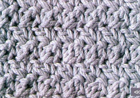 Patrón 1009 Punto Tupido a Crochet