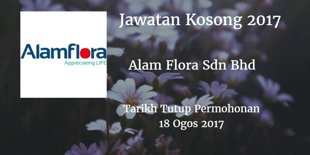 Jawatan Kosong Alam Flora Sdn Bhd 18 Ogos 2017
