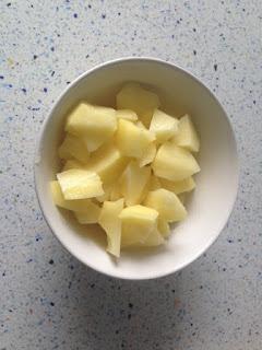 Trocear patata
