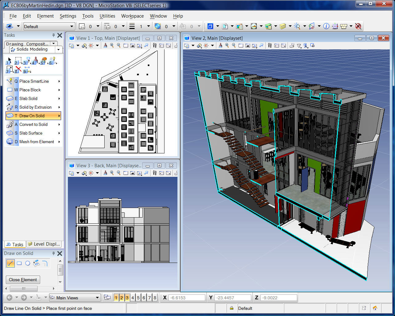 Bentley microstation geoengineerings school for 3d home builder software